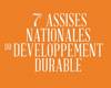 7e Assises Nationales du Développement Durable