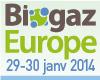 Biogaz Europe, St-Brieuc, ExpoCongrès 29-30 janvier 2014