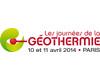 Journées de la Géothermie - 10 et 11 avril - Paris