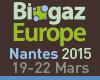 Biogaz Europe, Nantes 19-20 mars 2015