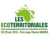 Les Ecoterritoriales, forum du développement durable - 28 & 29 avril