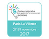 8e assises de la qualité de l'environnement sonore du 27 au 29 novembre à Paris