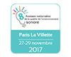 8e assises de la qualité de l'environnement sonore du 27 au 29 novembre à Paris