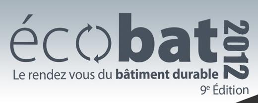 Salon ecobat le rendez vous professionnel du b timent durable for Salon professionnel batiment