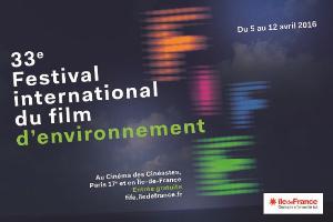 33e édition du Festival international du film d'environnement