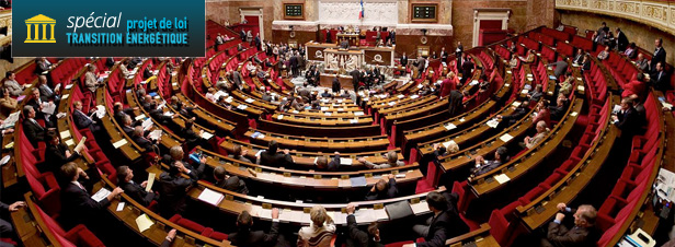 L'examen en 1<sup>ère</sup> lecture de la loi sur la transition énergétique achevé par l'Assemblée