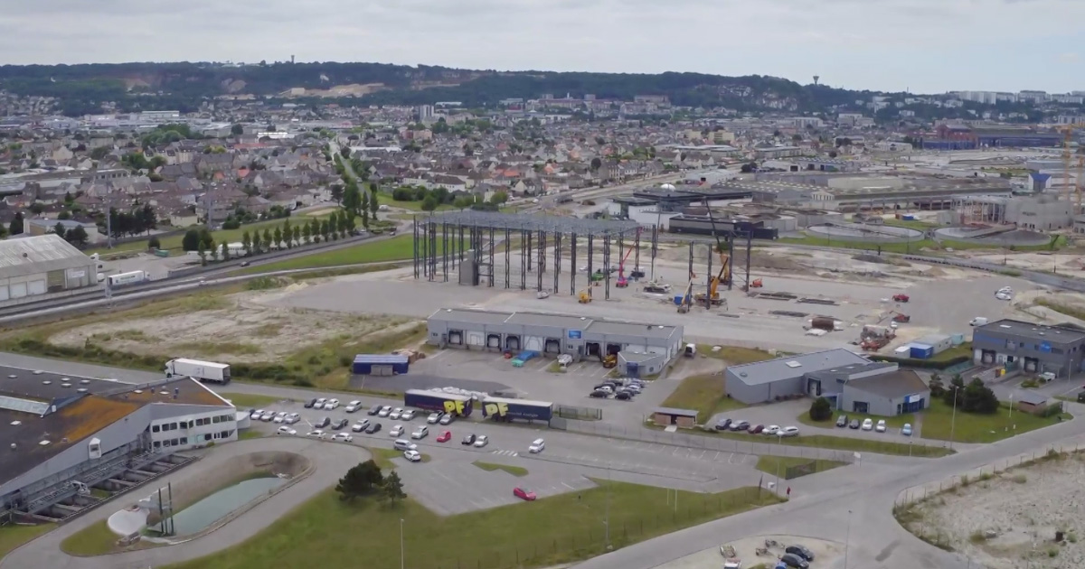 Naval Energies-OpenHydro lance la construction de son usine d'hydroliennes à Cherbourg