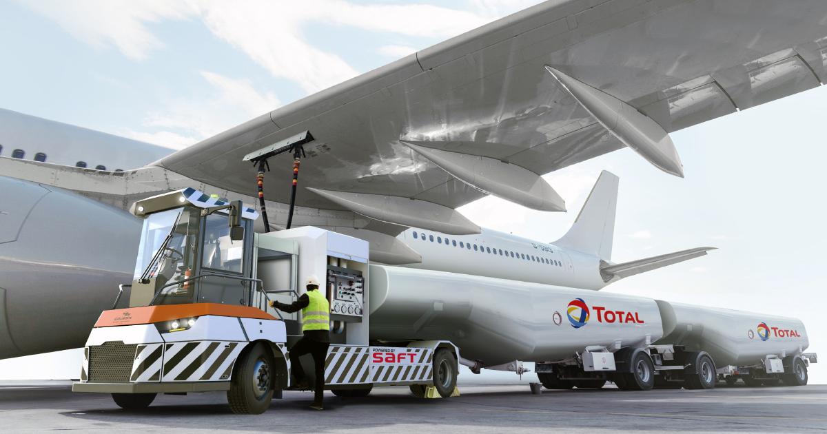 Un premier camion avitailleur 100% électrique fin 2020 à Toulouse