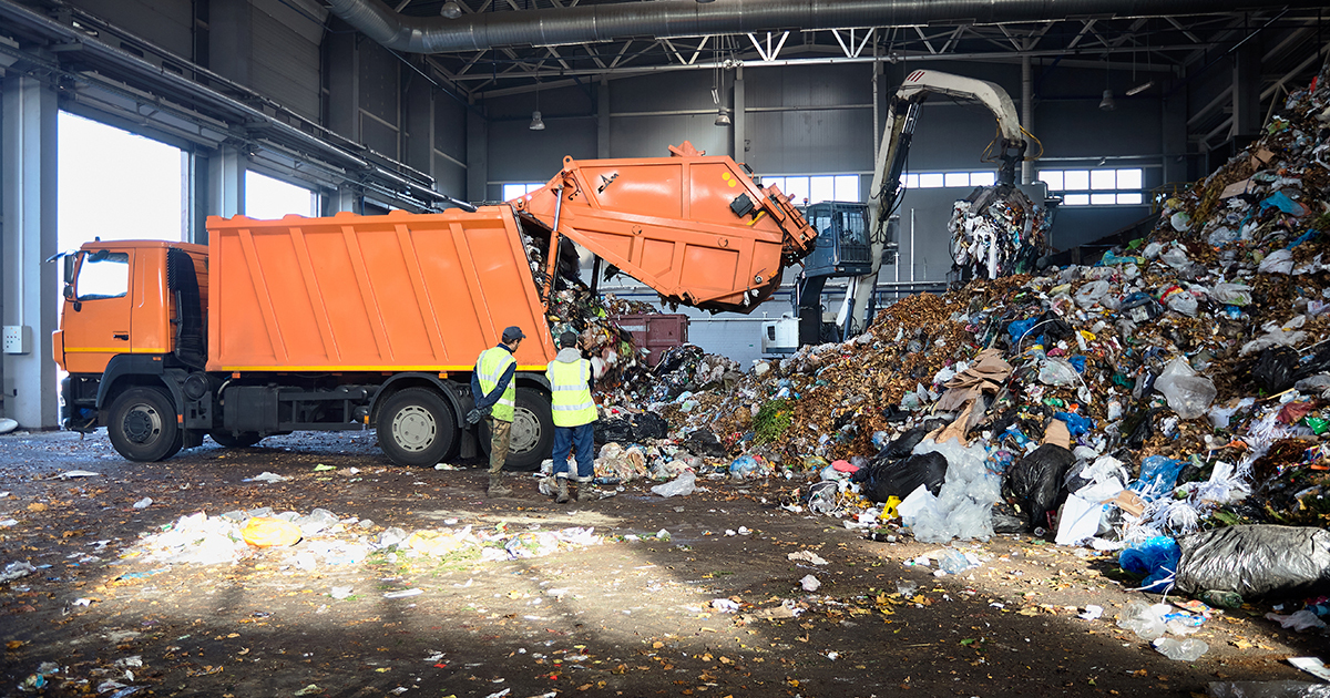 La vidéosurveillance des déchets incinérés ou mis en décharge est précisée