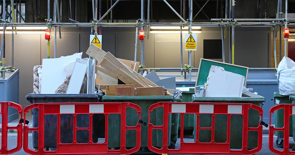 Le tri cinq flux bientôt étendu aux déchets de chantier
