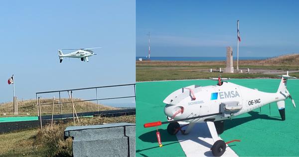 Détroit du Pas-de-Calais: un drone renifleur va surveiller les émissions des navires