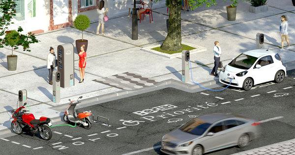 Bornes de recharge électrique: Total remporte l'appel d'offres de la Ville de Paris