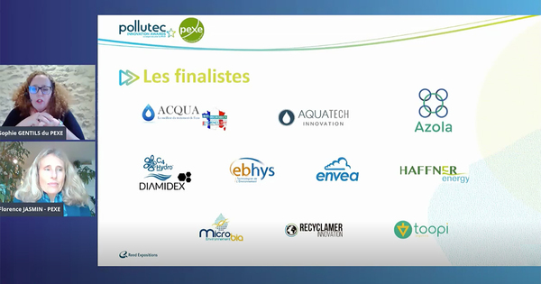 Haffner Energy, Azola et ACQUA.ecologie se distinguent au Pollutec Innovation Awards