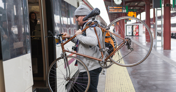 Les emplacements pour vélos vont devenir obligatoires dans les trains
