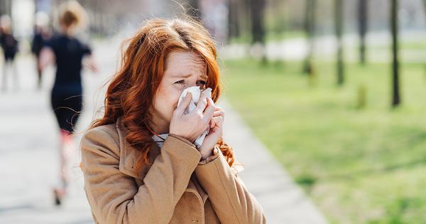 Le port du masque réduit l'exposition des personnes allergiques aux pollens