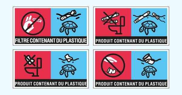 Plastiques à usage unique: un nouveau marquage européen à apposer sur quatre familles de produits