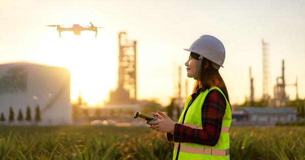 Installations classées: les inspecteurs pourront utiliser des drones