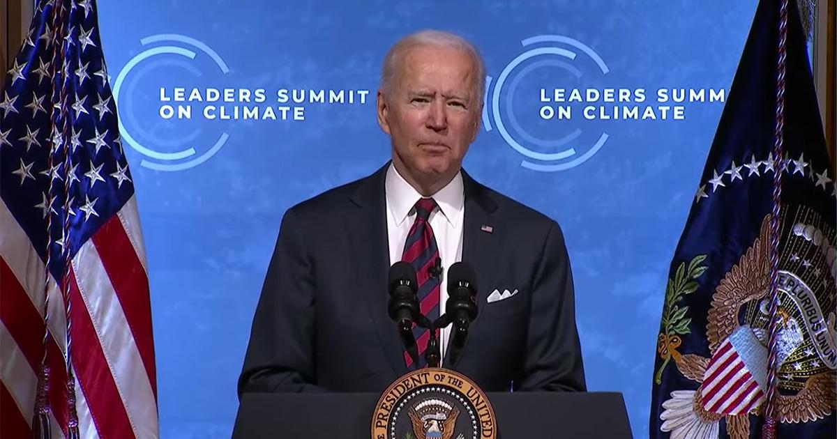 Climat: Joe Biden se fixe 50 à 52% de réduction des émissions d'ici à 2030