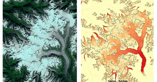 La fonte des glaciers s'accélère