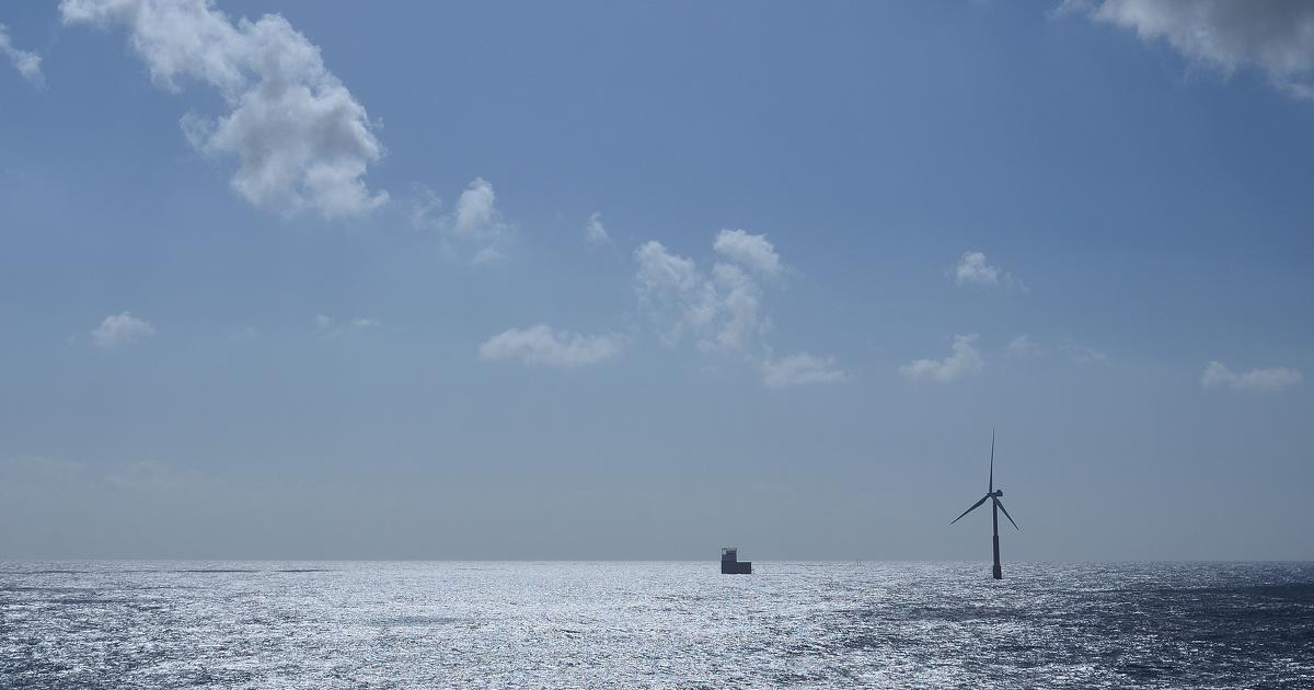 Éolien flottant: l'État fixe la zone d'implantation du parc au large de Belle-Île
