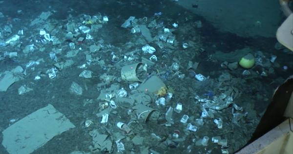 La mer Méditerranée, une beauté... plastique?
