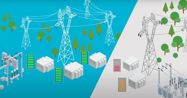 RTE lance son expérimentation à grande échelle du stockage d'électricité par batteries