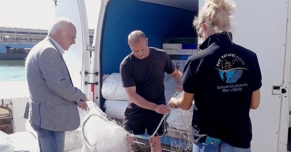 Un nouveau prototype de filet biodégradable en test à Boulogne-sur-mer