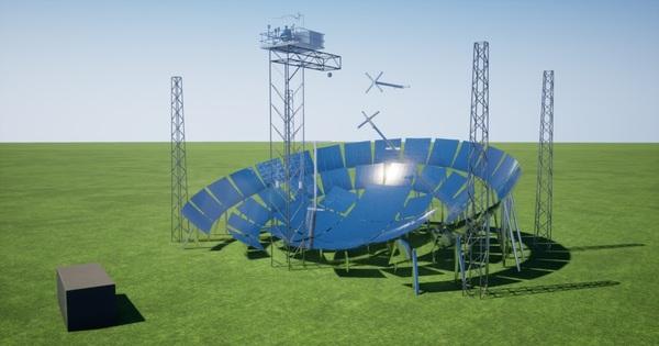 Le prototype de la centrale solaire Mosaic est en phase finale de développement