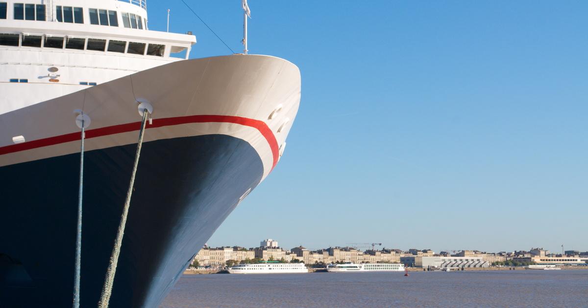 Le Cerema mesure les particules fines des navires du port de Bordeaux