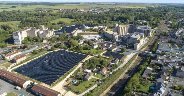La malterie d'Issoudun accueille la plus grande centrale solaire thermique industrielle
