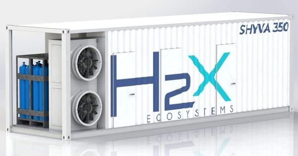 Enedis s'allie avec H2X-Ecosystems pour déployer son générateur électrique à hydrogène