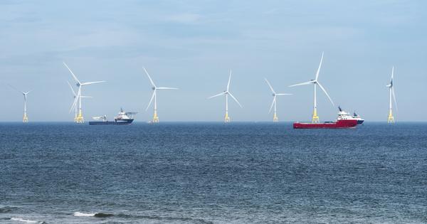 Éolien en mer: le parquet financier ouvre une enquête sur l'attribution du parc de Saint-Brieuc