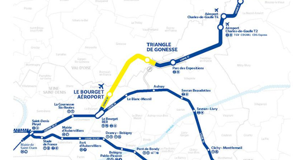 Triangle de Gonesse: le recours contre la ligne 17 rejeté