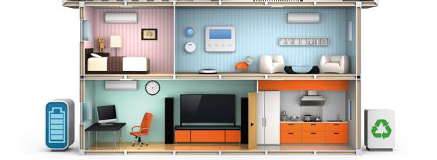 Les maisons intelligentes variables d 39 ajustement du r seau stockage - Les maisons intelligentes ...