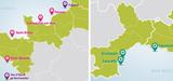 Eolien flottant : les 4 zones propices au développement de fermes pilotes