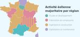 Eolien : 15.870 emplois en France pour la fabrication de composants, l'ingénierie et la construction