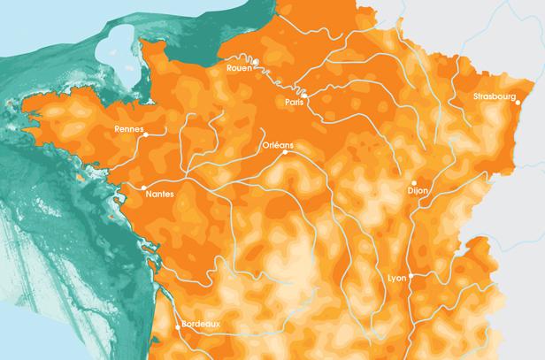 Biodiversité: la carte de France des zones les plus menacées