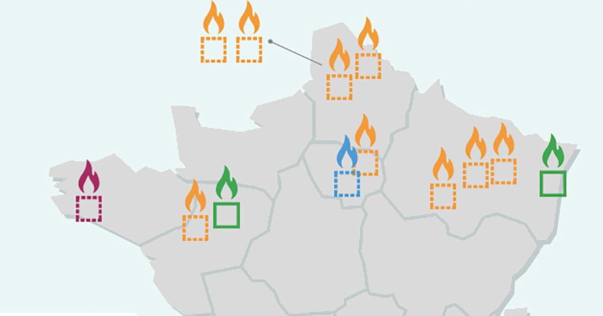 [INFOGRAPHIE] Déchets: état des lieux du soutien aux unités de valorisation de combustibles solides de récupération