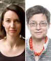 Interview de Laura Farrant (gauche) et Catherine Gomy (droite)