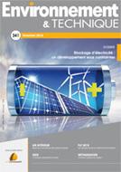 Stockage d'électricité : un développement sous contraintes - Environnement & Technique n°341