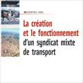 Création et fonctionnement d'un syndicat mixte de transport