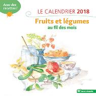 Le calendrier 2018 - fruits et légumes au fil des mois