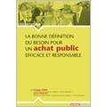 Bonne définition du besoin pour un achat public efficace et ...