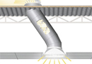 Conduit de lumi�re naturelle 530mm en dalle faux plafond -  Solatube distribu� par Nature et Confort (330DS) par Nature et Confort