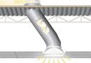 Conduit de lumière naturelle 530mm en dalle faux plafond -  Solatube distribué par Nature et Confort (330DS) par Nature et Confort