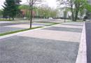 Parking perméable sur dalles alvéolaires : Système ECOMINERAL