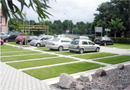 Dalle Gazon ECOVEGETAL GREEN : parking engazonn�  � usage mod�r� par ECOVEGETAL