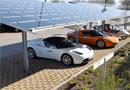 Installation d'ombrières photovoltaïques pour parkings publics et privés