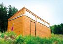 Mobibois® : cabane sans fondation pour activités en milieu naturel