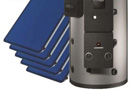 Syst�me solaire combin� COMFORT E PLUS pour chauffage et production d�eau chaude solaires